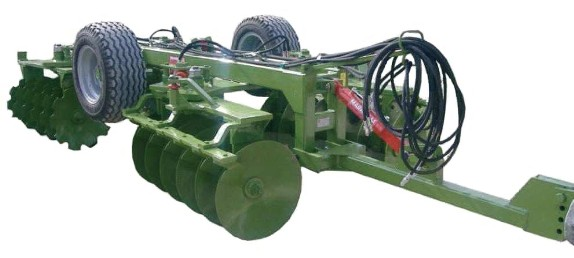 STEALTH medium series wheel-mounted stubble disc harrow
