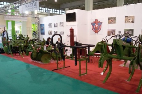 Photo of the F.lli Marinelli stand at Agrilevante 2015 in Bari