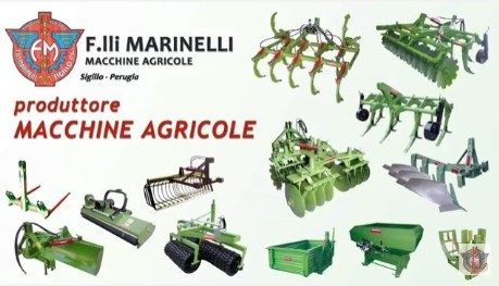 Video on agricultural machinery by F.lli Marinelli
