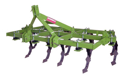 Chisel series Cultivator Grubber with 7 - 15 double blade shanks as standard