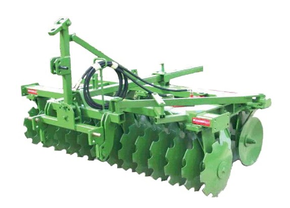 "Disc harrows in the Economy Light and Heavy series are composed of two ""V"" sections"
