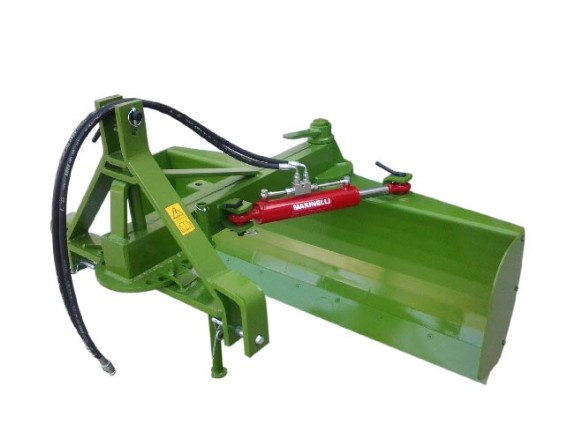 Medium-heavy series grader for soil levelling to prevent water pooling