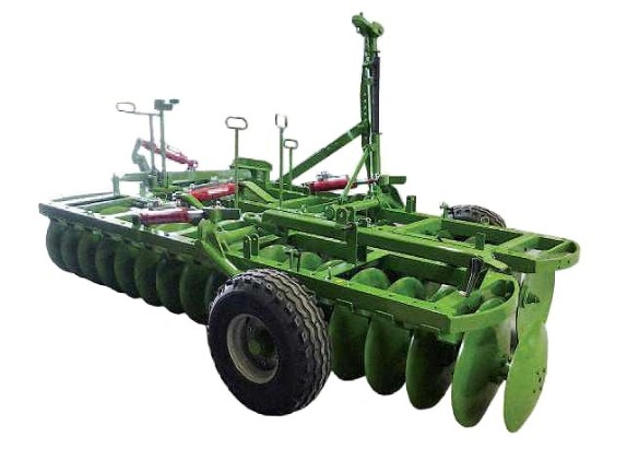 Pulverizer disc harrows with longitudinal transport.heavy series  PMPTL